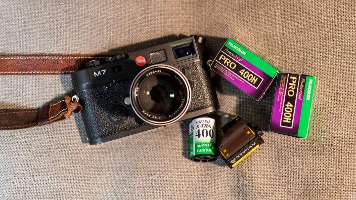 필름카메라 즐기기, 필름사진 즐기기