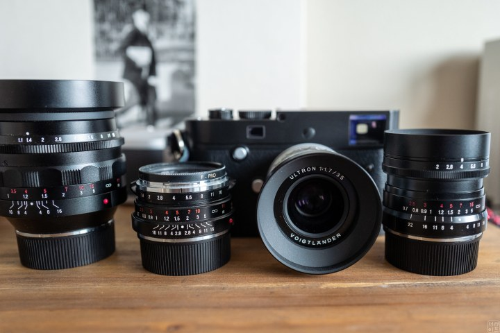 Voigltander Nokton lenses with a Leica M system