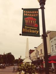 Banner on Main Street