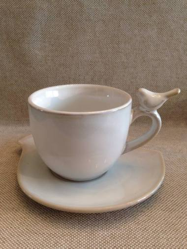 I collect 'birds' so why not have one on a tea cup?