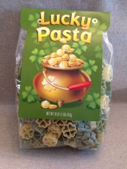Going to have this on St. Patrick's Day.