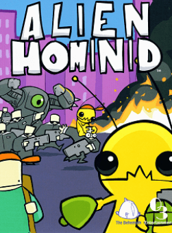 Alien Hominid box art. Image courtesy of Hardcore Gaming 101.