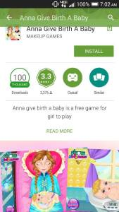 Anna Give Birth a Baby