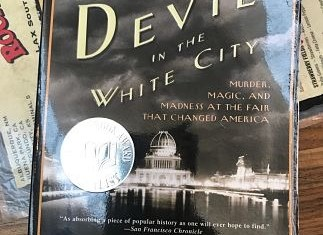 The Devil in the white city, a book about chicago