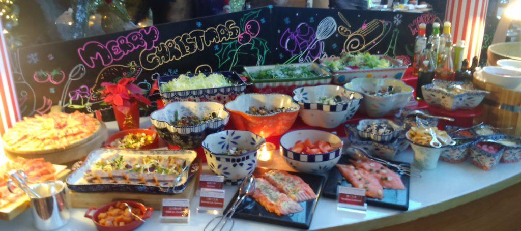 Appetizers; Hong Kong; Christmas Buffet