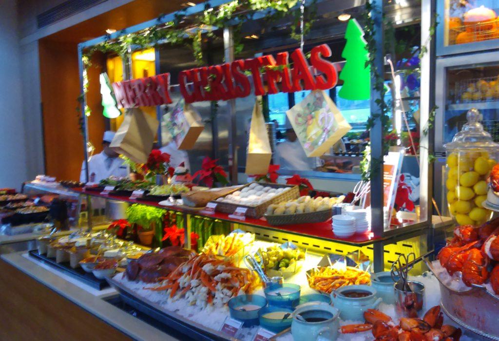 Seafood Mains; Hong Kong; Christmas Buffet