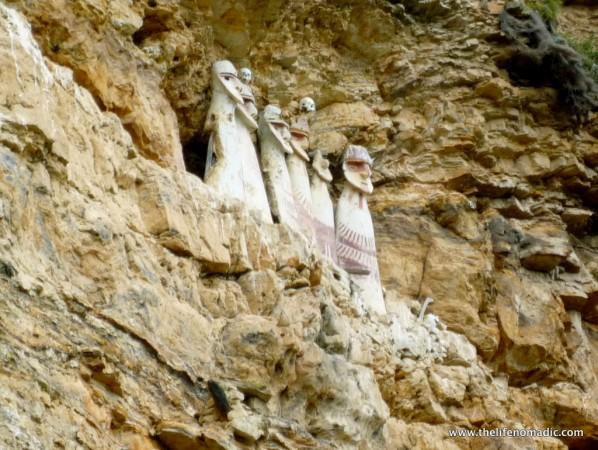 Sarcophagi at Carajia