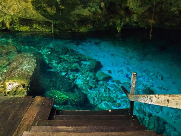 Cenote Dos Ojos by Tim Gage via Flickr