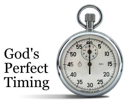 god's perfect timing stop watch