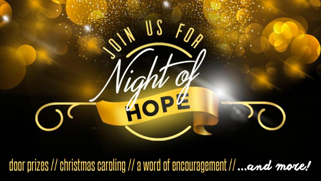Night of Hope Blog Header