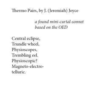 thermopairs