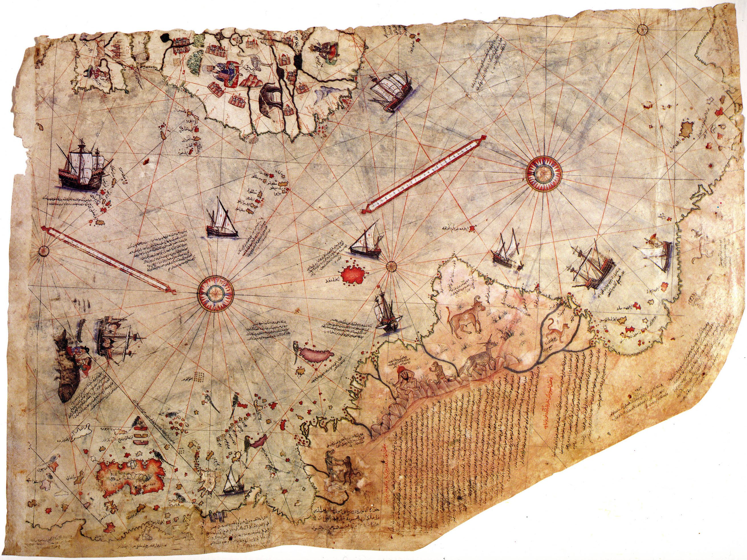 Piri Reis Karte