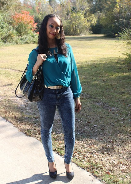 Outfit of the Day….Thanksgiving '12