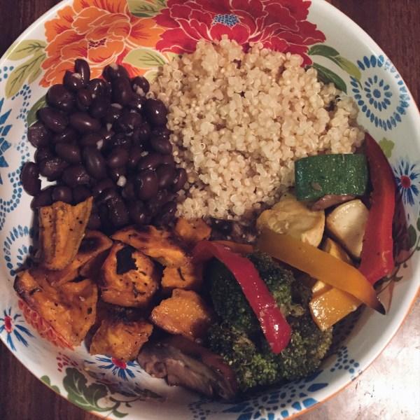 Meatless Quinoa Bowl