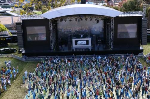 Mini Armin Van Buuren Concert in Mini Holland