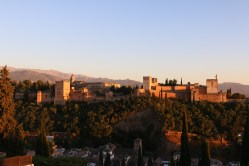 Alhambra from a distance