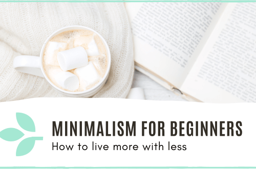 Link to 'minimalism for beginners' blog post