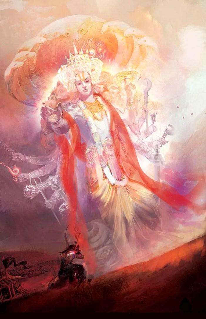 krishna vishwaswaroop kurukshetra