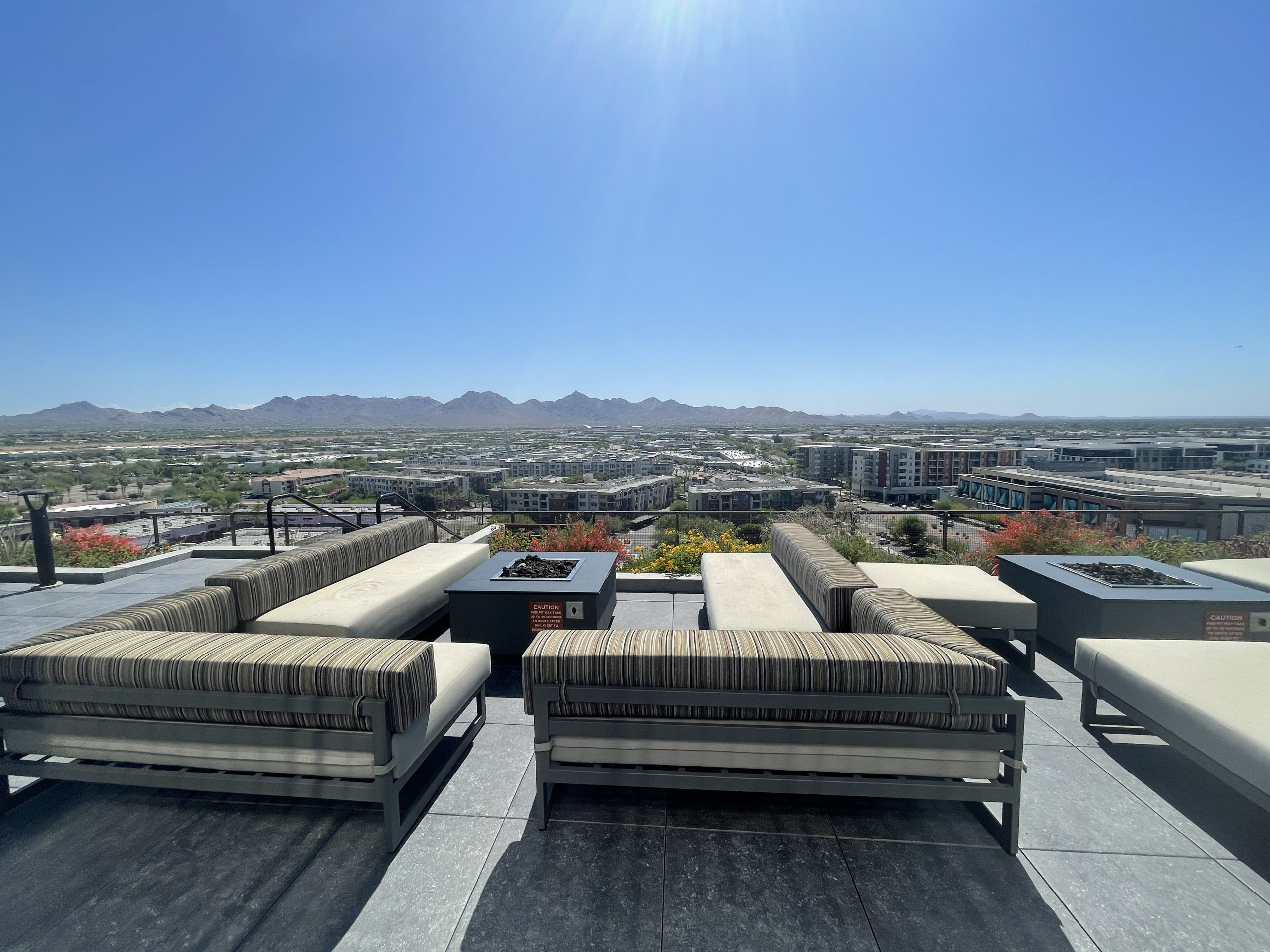 View to the East from the Optima Rooftop