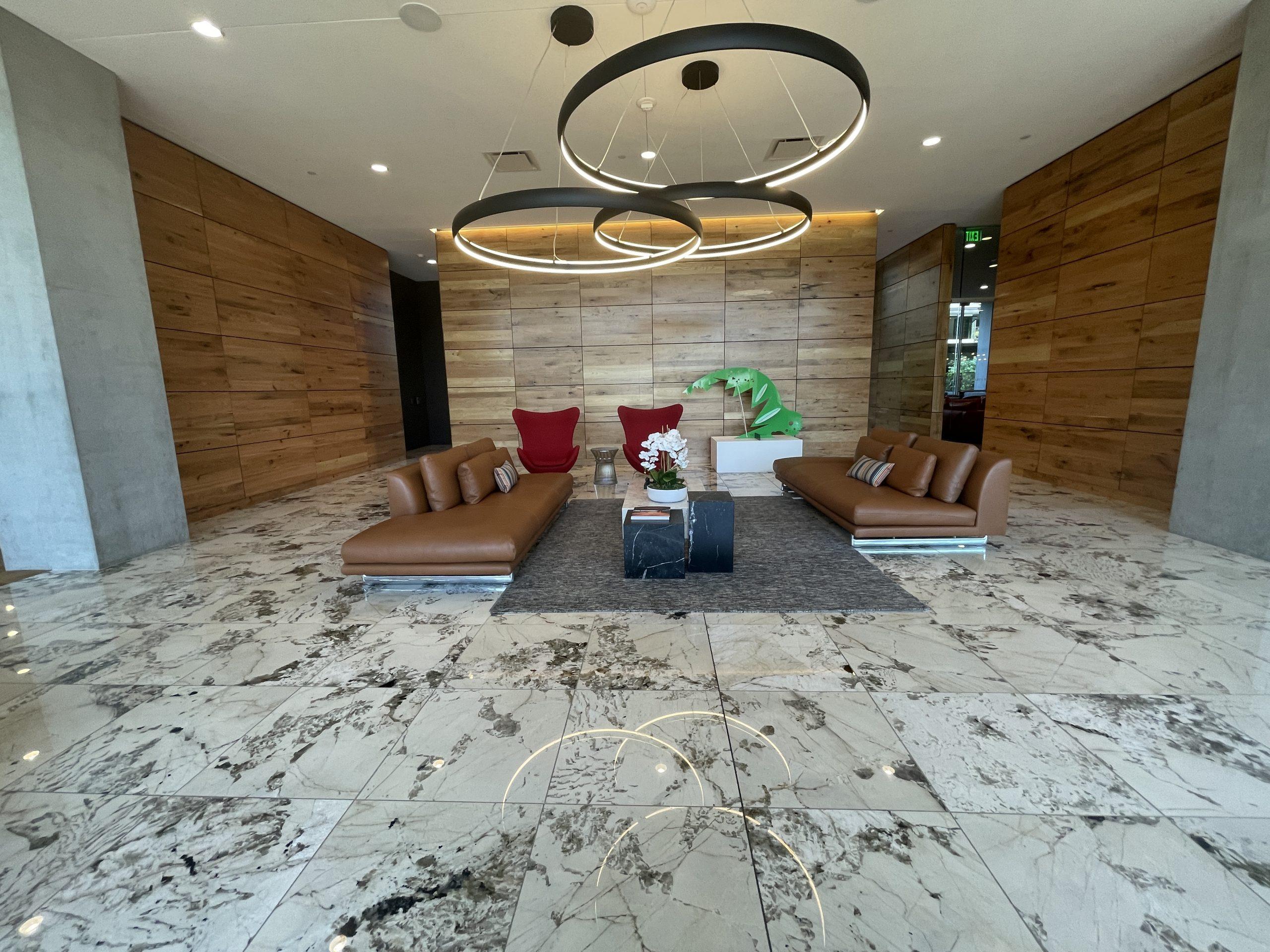 The lobby at Optima Kierland 7180