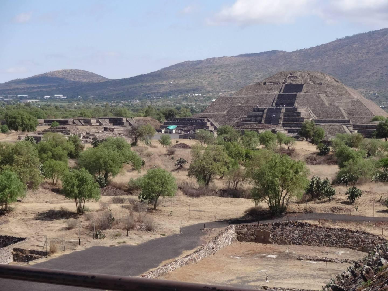 Teotihuacan piramide