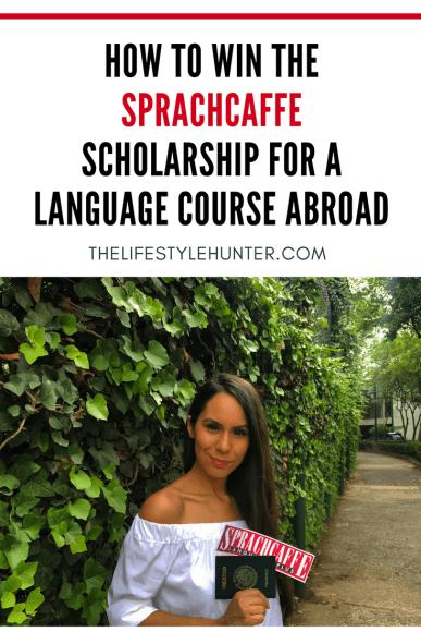 Study Abroad - Sprachcaffe Scholarship