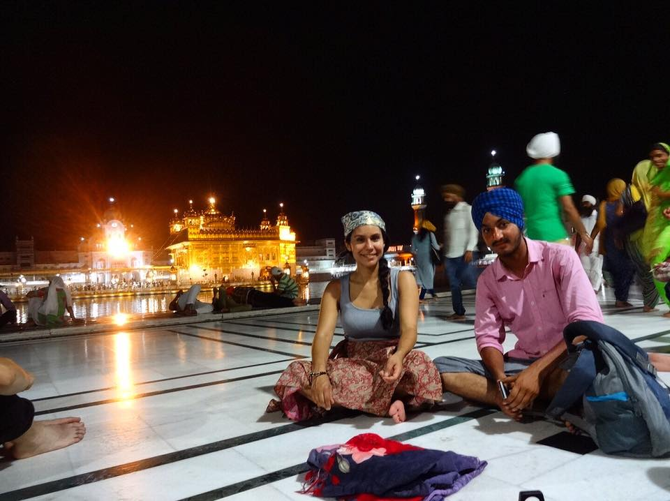 The Golden Temple: a magical place in India
