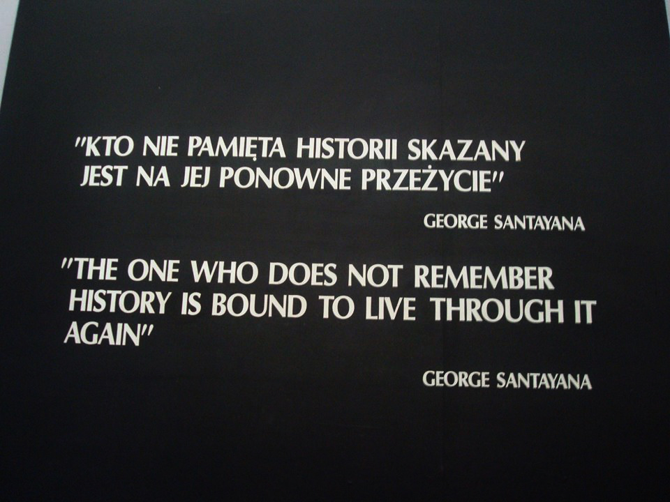 Europe - Poland - Auchwitz-Birkenau - Quote