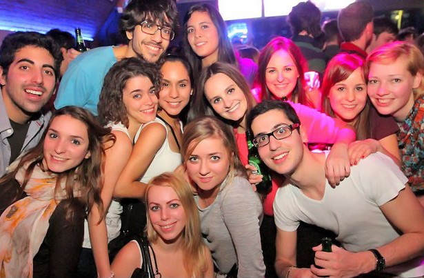 Study Abroad friends