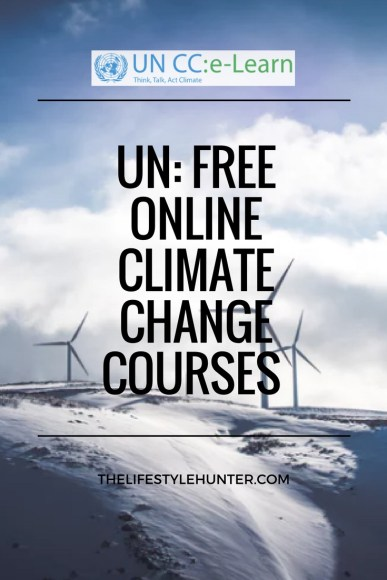 #thelifestylehunter #pilarnoriega Online courses: UN, climate change, united nations, free course, online course, certificate, ngo, volunteer abroad, travel, traveling, travelling, travel blogger, travel blog, help the planet