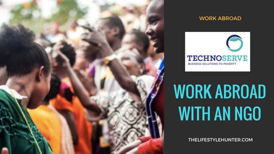 TechnoServe: work abroad with an NGO
