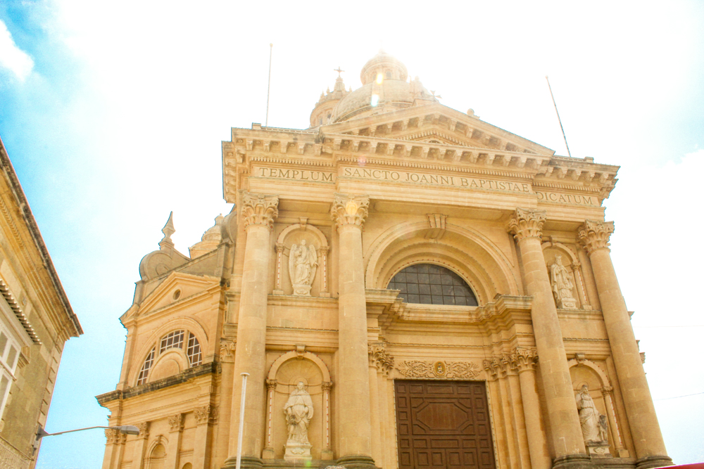 Xewkija Church Malta - Gozo