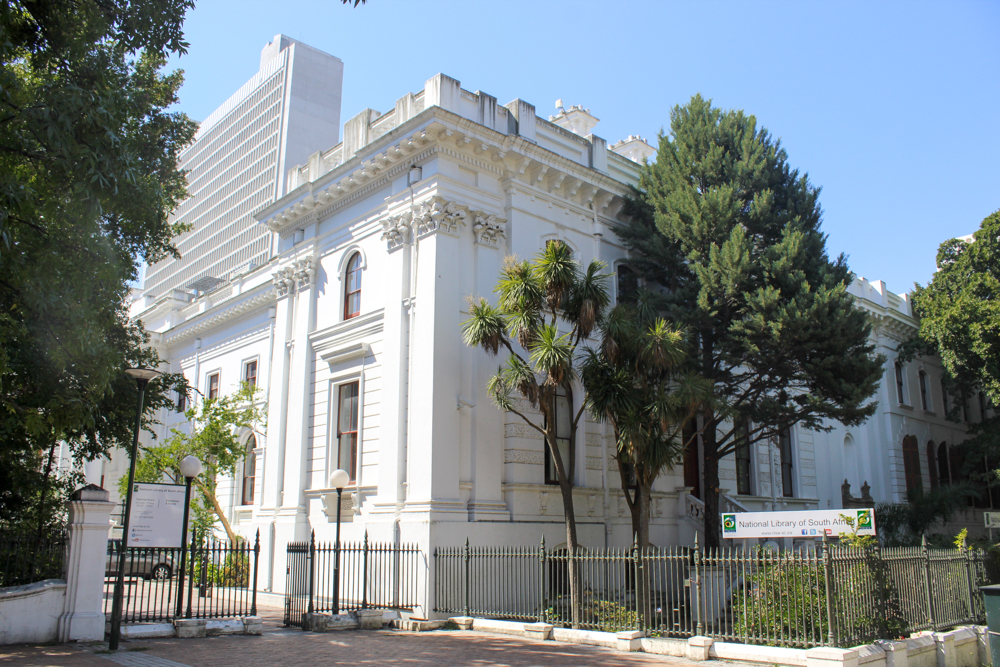 National Library of South Africa - Companys Garden - Cape Town - South Africa