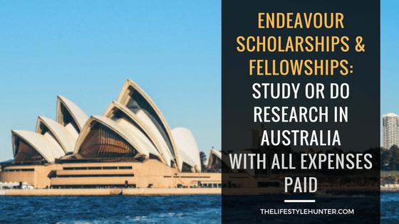 Endeavour Scholarship Australia