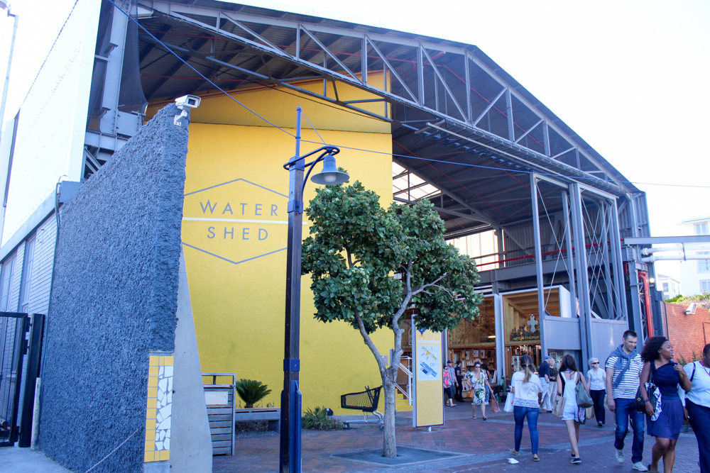Water shed - Waterfront - Cape Town - South Africa