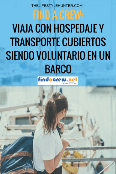 Voluntariado en barcos, cruseros - Find a crew
