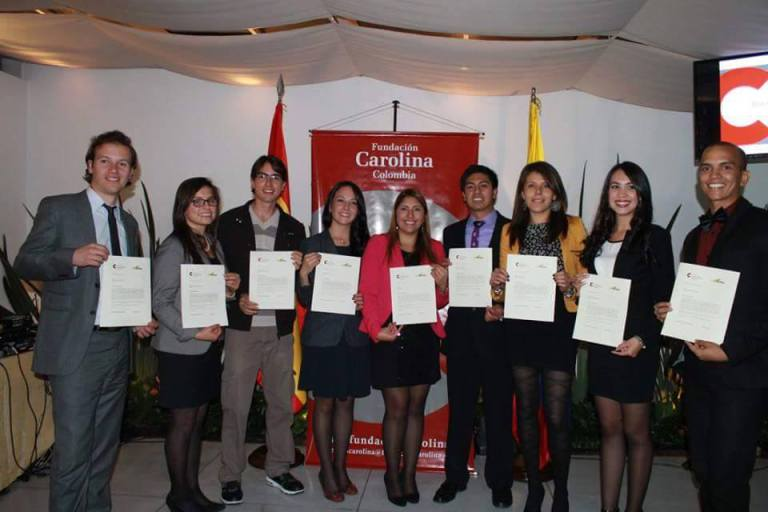 Fundacion carolina beca para estudiar en espana
