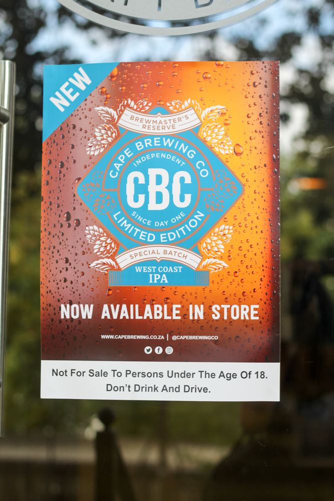 CBC Beer - Spice Route - Cape Town - South Africa - foodie