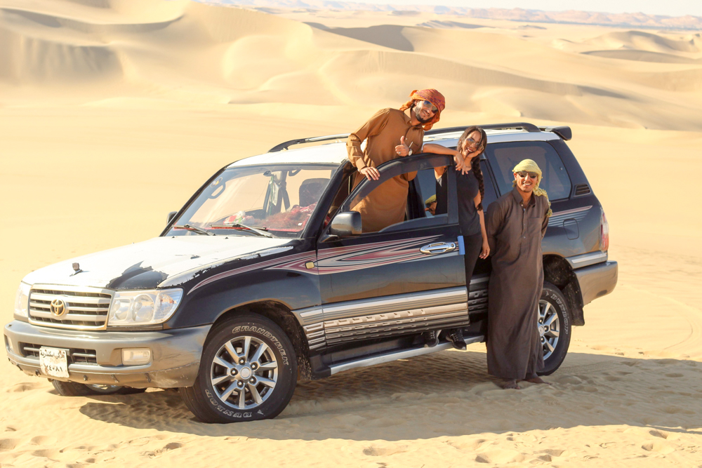 Desierto Egipto - Workaway - voluntariado