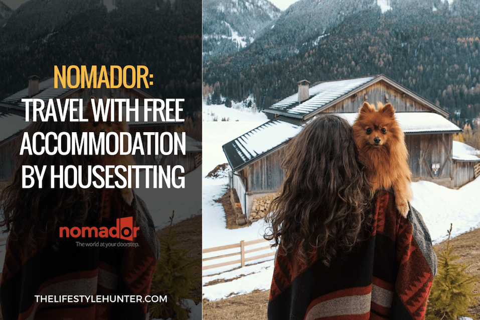 NOMADOR: travel with free accommodation by housesitting