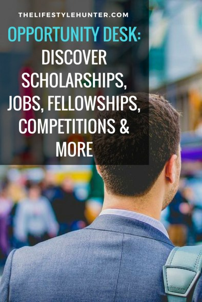 Various Scholarship Finder - Opportunity Desk