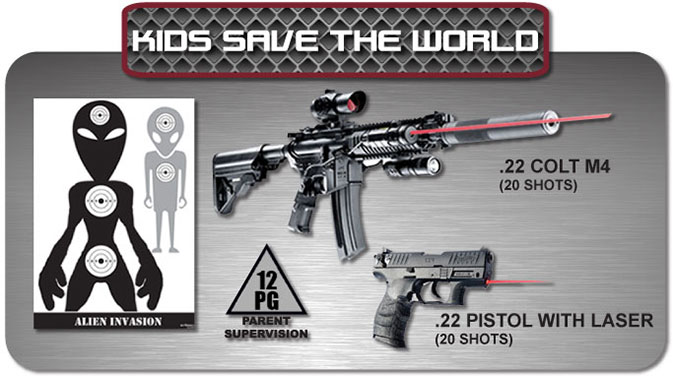 Gun Fun - Cape Town South Africa - kids save the world