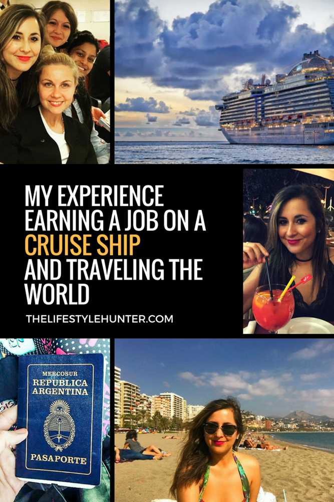 Work abroad - Work on a cruise ship