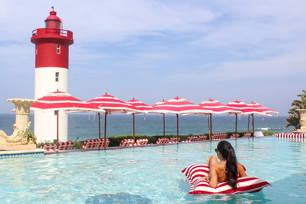 Oyster Box Hotel pool - Durban - South Africa