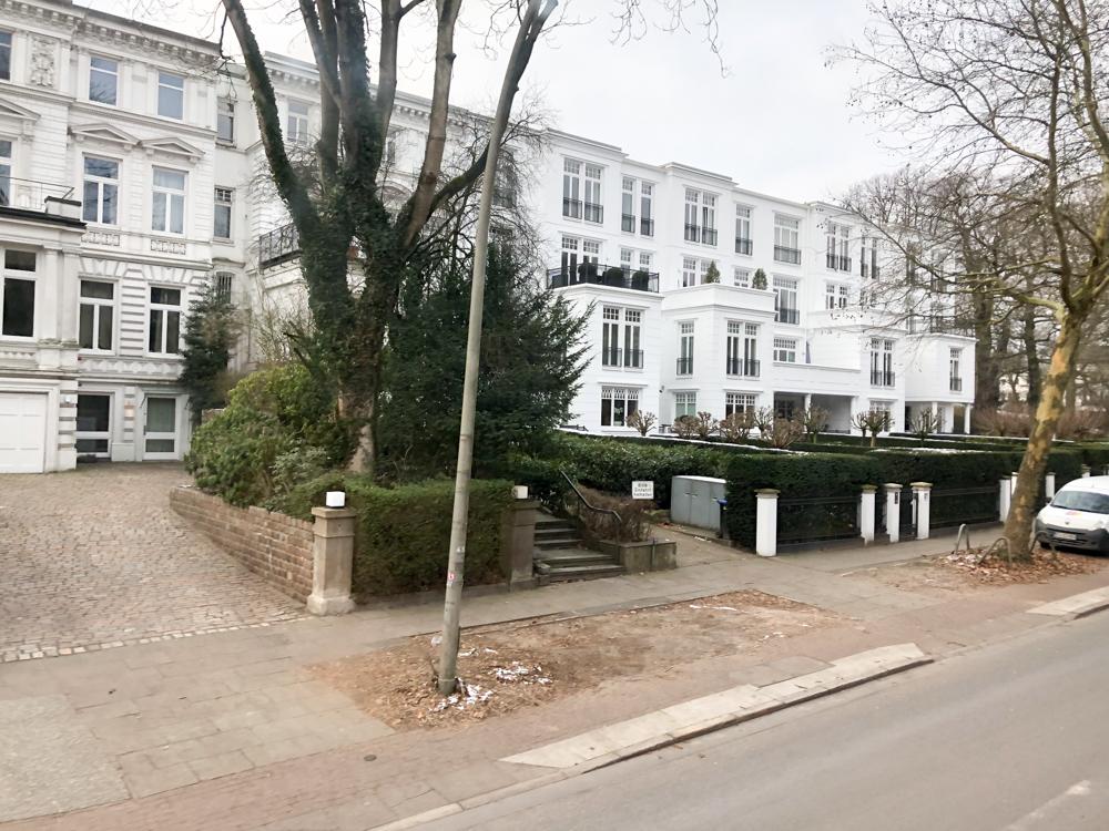 Hamburg - Germany - Europe Millionaires' street at the Außenalster (Alster Lake)