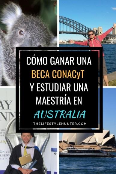 Estudiar - Beca CONACyT - Australia