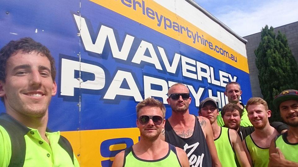 Waverley Party hire Australia