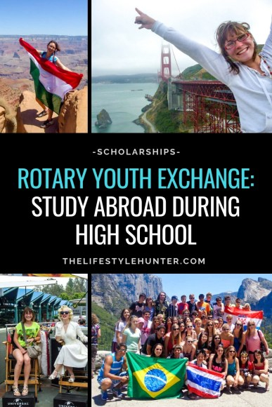 nt Rotary Youth Exchange Rotary