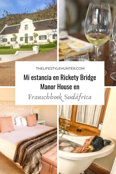 Africa - Sudafrica - Franschhoek - Hotel Rickety Bridge