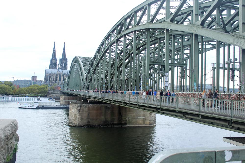 Hohenzollern Bridge (Hohenzollernbrücke) - Cologne - Germany